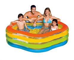 Купить надувной бассейн <b>Intex Summer Colors 185х180х53</b> ...