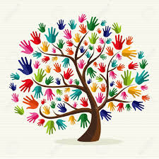 Image result for diverse family clipart