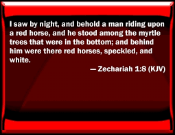 Image result for Zechariah 1:8