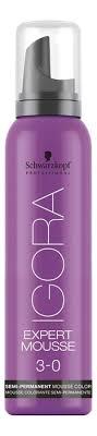 <b>Тонирующий мусс для</b> волос Igora Expert Mousse 100мл ...