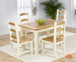 cream compact extending dining table: foldable  dining sets foldable