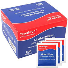 Antibacterial Wipes 75% Isopropyl <b>Alcohol</b> Wipes Surface ...
