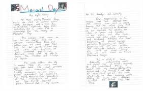 memorial day essay by kathlena peebles tolland students can show their patriotism by taking part in the towns  memorial day essay