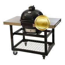 <b>Гриль угольный Oval Junior</b> Luxury, на столе-тележке 774SL Primo