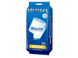 <b>Бумага</b> туалетная <b>Mon Rulon</b> влажная № 50 купить в детском ...
