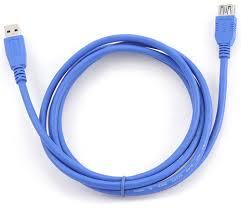 Кабель USB3.0 AM-AF 1.8м удлинительный ... - Форте-ВД