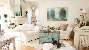 chic living room dcor: distressed yet pretty white shabby chic living rooms home design lover