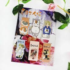 1 Pcs Kawaii <b>Anime</b> Japanese Comic <b>Natsume Yuujinchou</b> Cat ...