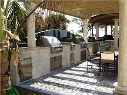 set cabinet full mini summer: beach themed rustic outdoor kitchen ideas white cream stone kitchen table stainless grills also gass