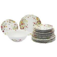 Сервиз столовый 19 предметов <b>Meadow</b>: <b>тарелка</b> десертная 6 ...