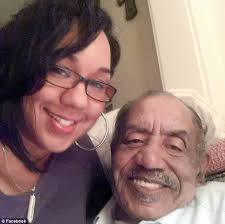Tragic death: Medric 'Cecil' Mills Jr., 77, right, collapsed and died Saturday afternoon with his daughter, Marie Mills, ... - article-2548359-1B0F747E00000578-64_634x632