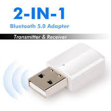 For TV PC USB <b>Bluetooth 5.0 Receiver</b> Audio Transmitter Adapter ...