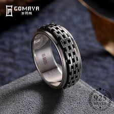 <b>GOMAYA Vintage</b> Street dance Rock <b>Punk</b> Cocktail Rings <b>Cool</b> ...