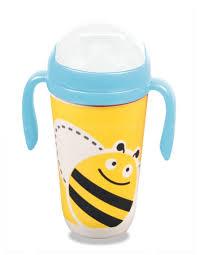 """Купить <b>Поильник</b> детский с трубочкой <b>Eco Baby</b> """"Пчелка"""", из ..."""
