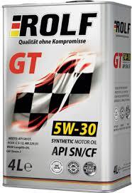 <b>Моторное масло</b> ROLF GT 5W-30 SN/CF SAE: купить ...
