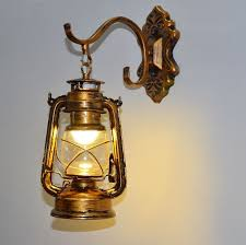 <b>Retro lantern</b> lamp kerosene lamp individual European iron bars ...