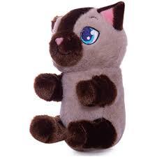 <b>Интерактивная игрушка IMC Toys</b> Котенок, бежево-коричневый ...
