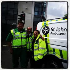 Image result for st john ambulance volunteer