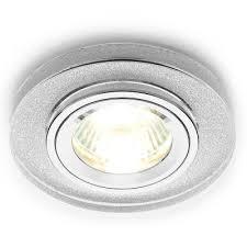 Встраиваемый <b>светильник Ambrella light</b> Mirror D0226 BK/CH ...