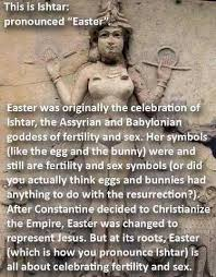 Happy Easter, Which is Not Named After Ishtar, Okay? - The Daily Beast via Relatably.com