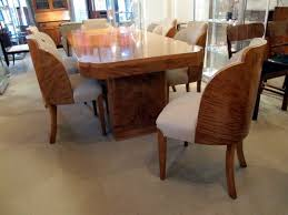 art deco dining suite by epstein in maple art deco dining suite
