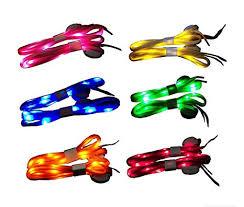 Jofan 6 Pairs Nylon LED Shoelaces Light Up Shoe ... - Amazon.com