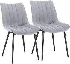 <b>Dining Chairs</b> Set of <b>2 pcs</b> Counter Kitchen Chairswith Backrest ...