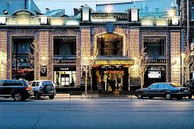 atrium facade night at the golden garden boutique hotel in st petersburg boutique hotel st petersburg