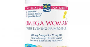 Nordic Naturals <b>Omega Woman with Evening</b> Primrose Oil 830 mg ...