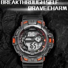 SMAEL brand LED digital Wrsitwatches anti-vibration military ... - Vova