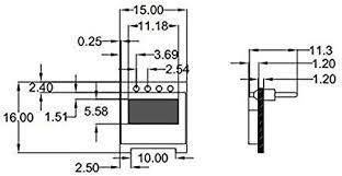 LCD Display Modules White <b>0.49inch OLED Display</b> Module ...