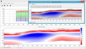 Программа 2D интерпретации данных ЗСБ