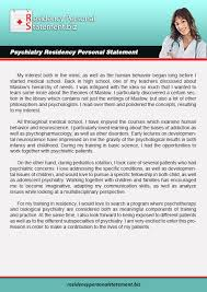 Medical Residency  amp  Fellowship Personal Statement Help  Samples