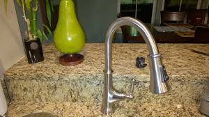 optima smart kitchen faucet cleaning