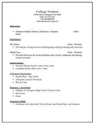 Resume Template College  college application resume template     Sample Of Job Resume sample resume application resume sample letter application  Resumes Examples For Jobs Job