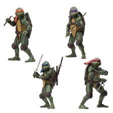 <b>Teenage Mutant Ninja Turtles</b> 90's Movie Action Figure Bundle ...