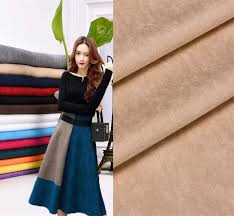 150CM*<b>50CM Fake</b> Suede Fabric Soft Polyester Faux Suede Cloth ...