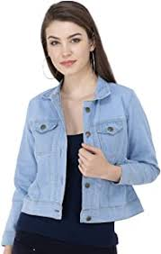 <b>Women</b> : Western Wear : Winterwear : <b>Jackets</b> : <b>Denim</b>