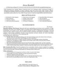 Pic Retail Manager Cv Template Example 1 1 Pagejpg Fashion Retail ... fashion retail resume examples: example luxury department store sales associate resume free sample