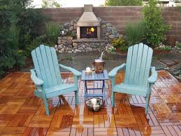outdoor fireplace paver patio: featured in yard crashers episode quotdraining patioquot