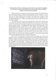 film studies essays examples linaragaisina do the films you have studied create a distinctive narrative and follow the conventions of their genres films studied double indemnity by billy wilder