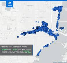 maps that reveal how major cities could be underwater by  miami s greatest weaknesses lie along the eastern coastline and the miami river which cuts through