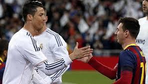 Hasil gambar untuk Foto Ronaldo dan Messi