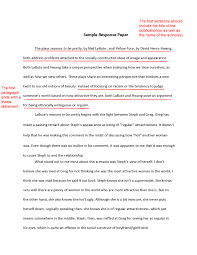 academic writing thesis statement on the research paper response