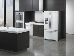 black and stainless kitchen kitchen throw down white ice vs stainless steel