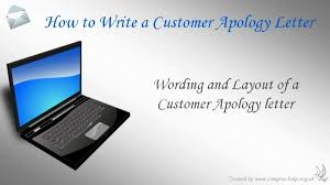 how to write a customer apology letter how to write a customer apology letter