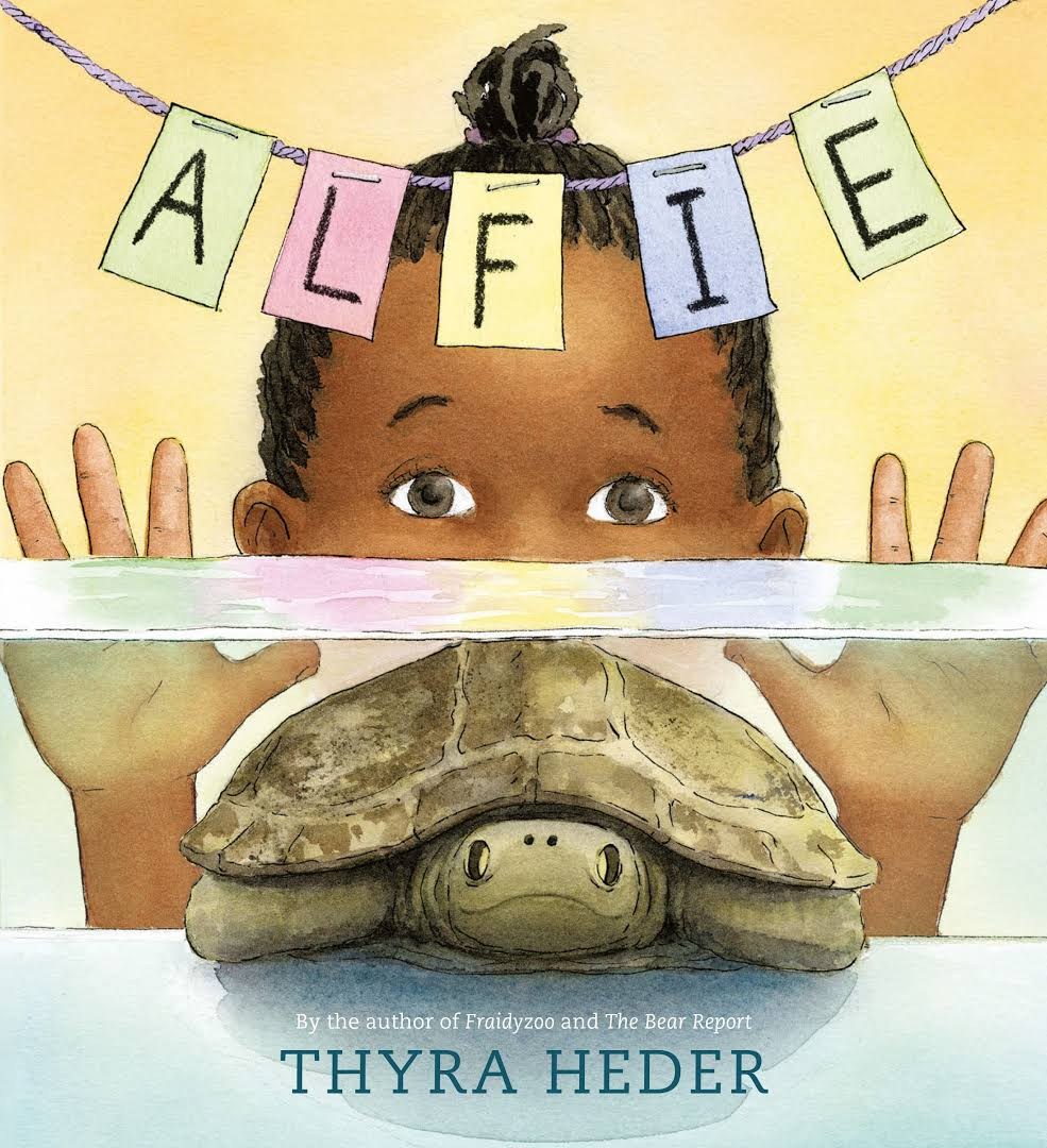 book cover of Alfie the Turtle that Disappeared
