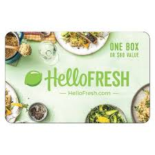 Hellofresh $60 (email Delivery) : Target - Gift Cards