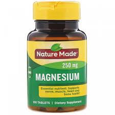<b>Магний</b>, Nature Made, <b>250 мг</b>, <b>100 таблеток</b> купить в Киеве и ...