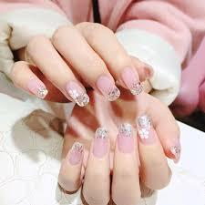 Прозрачный <b>розовый</b> Французский Поддельные <b>ногти</b> ...